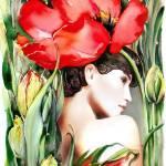 """""""The Tulip"""" by Hannahart"""