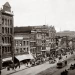 """Southside of Market Street, 3rd to 4th Street, 190"" by worldwidearchive"