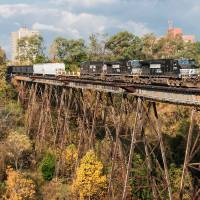 Ashtabula Trestle Art Prints & Posters by Rich Kaminsky