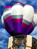 Balloon over Monument
