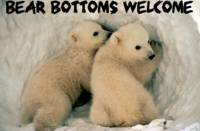 Bear Bottoms Welcome