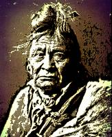 Hoop On the Forehead-Crow Indian