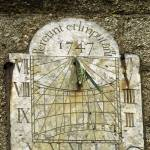 """Vertical Sundial, St Buryan Parish Church (38206)"" by rodjohnson"