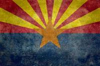 Arizona state flag - Vintage version
