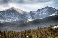 Longs Peak Winter View