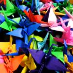 """1,000 Japanese Cranes"" by AllisonAuer"