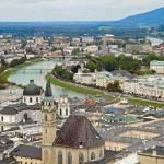 """Salzburg from Hohensalzburg Castle"" by robertmeyerslussier"