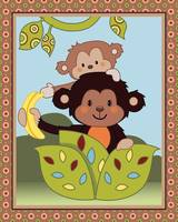 Curly Tails - Monkeys and a Banana