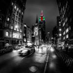 """NYC 5th Ave Fisheye"" by dantv"