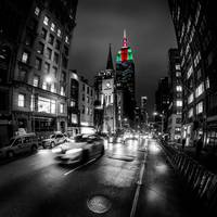 NYC 5th Ave Fisheye
