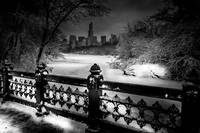 Snowy Central Park NYC