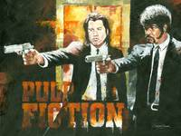 Samuel L Jackson & John Travolta Pulp Fiction
