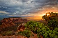 Warm Glow on the Colorado National Monument