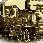 """locomotive vintage"" by frankreggio"