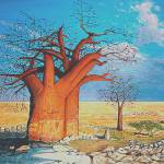 """Boabab tree"" by nicoart"