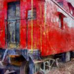 """Old Red Caboose"" by Michelle1991"