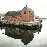 Motif # 1 - Rockport Harbor, Massachusetts