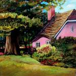 """The Pink Cottage"" by ACastelli"
