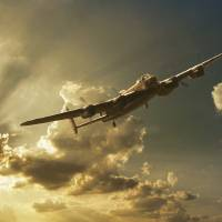 Mynarski Memorial Lancaster Art Prints & Posters by Jeff Stephenson