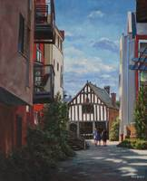 painting_southampton_medieval_merchant_house