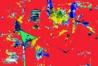 Abstract 69 red