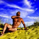 """Dune Nude Toon 4872"" by JosephBrian"