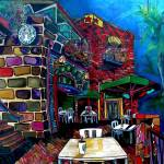 """Downtown Starbucks"" by artbypatti"