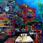 """""""Downtown Starbucks"""" by artbypatti"""