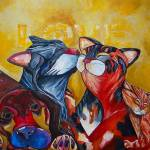 """Unconditional Love"" by artbypatti"