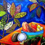 """Papaya Morning"" by artbypatti"