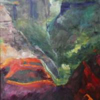 Waimea Canyon Art Prints & Posters by Jacqueline Brewer