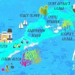 """Bermuda Map"" by joylaforme"