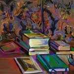 """""""Still Life with Books"""" by clydesemler"""