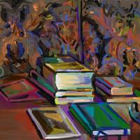 Still Life with Books - xxiv.ii.xiv Art Prints & Posters by Clyde Semler