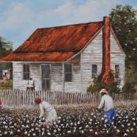 MOMA'S WATCHING  Larry Kip Hayes FOLK ART Art Prints & Posters by Kip Hayes
