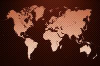 World map carbon fiber 02