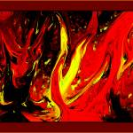 """FIRESTORM II - HELL with  Quadruple Border"" by TheNorthernTerritory"