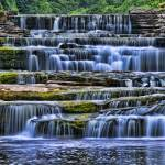 """Cascading Waterfall, Yorkshire Dales, United Kingd"" by BerndTschakert"