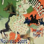 """Reproduction of a poster advertising Paris Courses"" by fineartmasters"