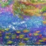 """""""Water Lilies"""" by lisaarundale"""