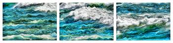 Cresting Waves Triptych