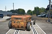 Rat Rod 'ain't no Chick'n Rod'