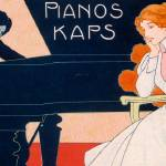 """Advertisement for Kaps Pianos"" by fineartmasters"