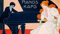 Advertisement for Kaps Pianos