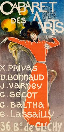 Poster for Cabaret Des Arts