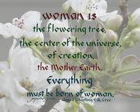Woman Is Mother Earth