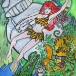 """jungle girl"" by Borax"