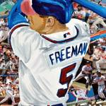 """Braves Freeman"" by riverratlee"