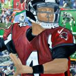 """Falcons Qtr Back 4"" by riverratlee"