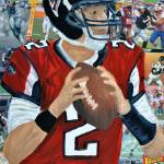 """Falcons Quarterback #2"" by riverratlee"